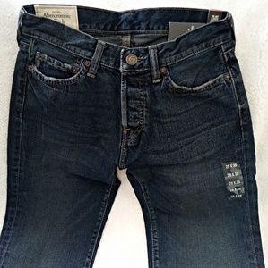 New Abercrombie & Fitch New York jeans sz 29x30